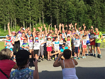 Challenge Biathlon Famille